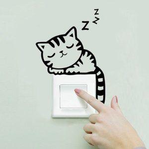 Cat Switch Stickers